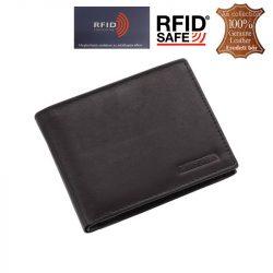 La Scala minőségi bőr férfi pénztárca RFID védelemmel!