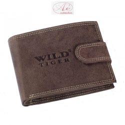 Prémium kategóriás bőr pénztárca, RFID védelemmel!