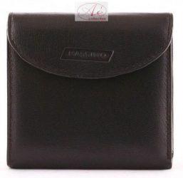 Mappa bőrből készült patenttal zárható pénztárca, Massimo felirattal, sok kártyatartóval.