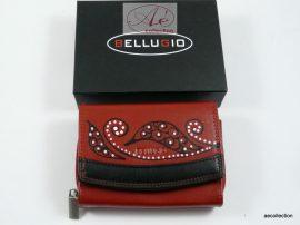"""""""Bellugio"""" női bőr pénztárca, kézzel festett, egyedi motívummal!"""