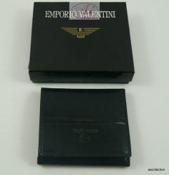 """Emporio Valentini"" exkluzív bőr pénztárca."