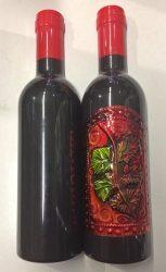 Boros szett  palackban, egyedi címke mintázattal!