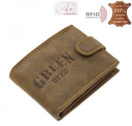 Prémium kategóriájú GreenDeed márkájú RFID-es pénztárca. Kisebb változat!