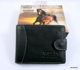 Wild Horse prémium kategóriás marhabőr kártyatartó RFID védelemmel!