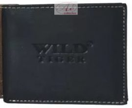 WILD TIGER prémium kategóriás bőr pénztárca, kisebb méretben.