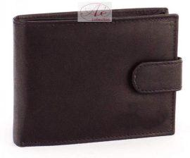 La Scala RFID-es bőr férfi pénztárca fekete színben.