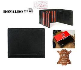 Elegáns, Ronaldo márkájú bőrpénztárca, RFID védelemmel.